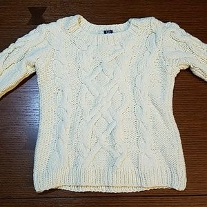 Baby GAP chunky cable knit sweater 18-24 months